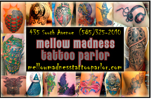 Mellow Madness Tattoo Parlor
